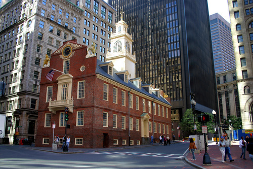 The freedom trail boutique boston hotel hotel in for Building a house in ma